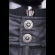 Twinlife MJT 251101 Férfi Fekete pufi dzseki
