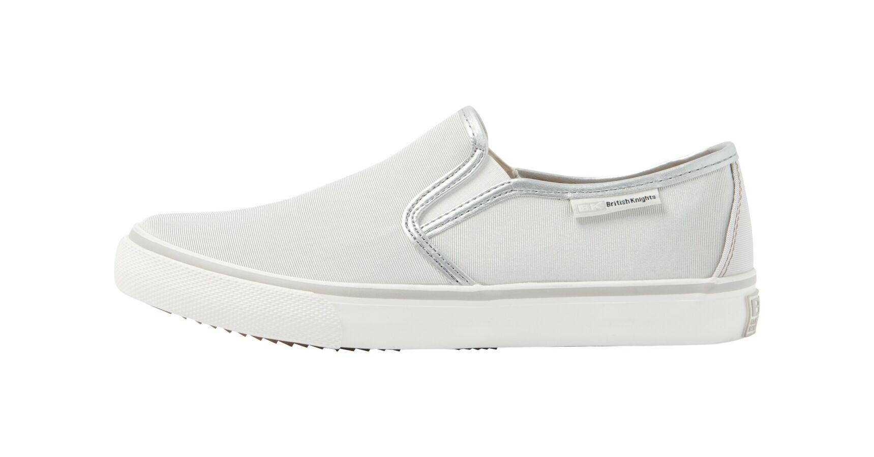 Belebújós Vászon cipő gumis (875), fehér, 37