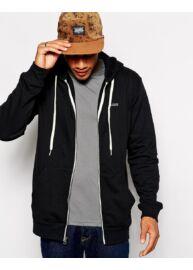Vans Vqxsblk fekete kapucnis pulóver Méret: L