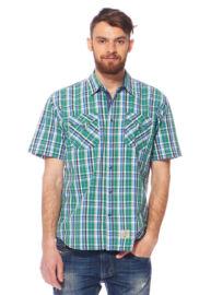 Tom Tailor 2017131 00 10 7279 zöld kockás  férfi ing