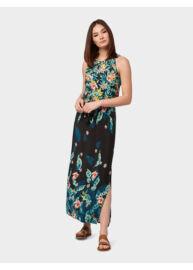 Tom Tailor 1011409 XX 70 17739 Női regular fit virágmintás maxi ruha
