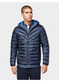 Tom Tailor 1011871 XX 12 10668 Férfi könnyű steppelt kabát (sötétkék)