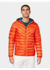Tom Tailor 1011871 XX 12 12913 Férfi könnyű steppelt kabát (narancs)