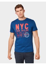 Tom Tailor 1012832 XX 10 16340 Férfi regular fit kék póló