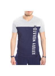 Antony Morato MMKS00610 7029 Férfi sötétkék-szürke póló