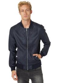 Tom Tailor 3722125 01 12 6576 Sötétkék férfi bőrhatású dzseki