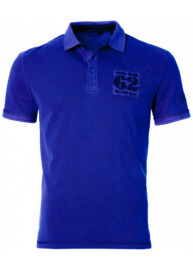 Tom Tailor 1530832 00 10 6673 kék galléros póló