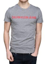 Calvin Klein J30J307856 903 Férfi szürke póló
