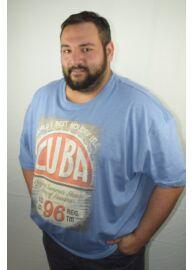 Kitaro 171126 2217 Férfi kék nagyméretű póló