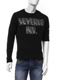 Devergo 1d624057ls3801 16 férfi fekete póló