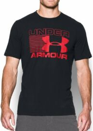 Under Armour 1282296 001 Férfi fekete póló