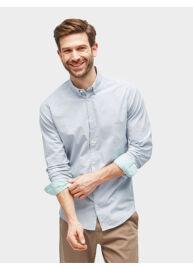 Tom Tailor 2055246 00 10 6356 világoskék férfi hosszú ujjú ing