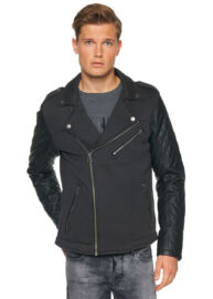 Tom Tailor 3521805.62.12 2578 fekete motoros dzseki