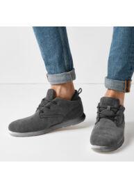 Bk B40 3622 01 Szürke férfi utcai cipő