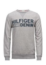 Tommy Hilfiger Denim DM0DM01221 038 Férfi szürke pulóver