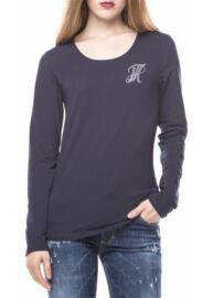 Tommy Hilfiger WW0WW015617 400 Női sötétkék póló Méret: L