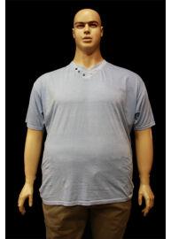 Kitaro 151122 288 Világos kék nagyméretű férfi póló Méret: 7XL/68