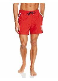 Tommy Hilfiger OP87893705 611 Piros úszóshort