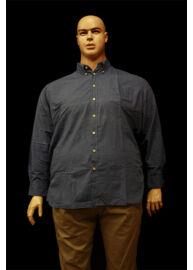 Kitaro 155721 290 kék nagyméretű férfi ing