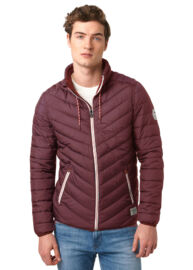 Tom Tailor 3533229 00 12 4652 Burgundy férfi dzseki