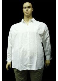 Kitaro 131753 600 fehér nagyméretű férfi ing