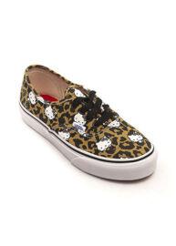 Vans vn-0 w4ndks Authentic leopard vs hello kitty vászoncipő