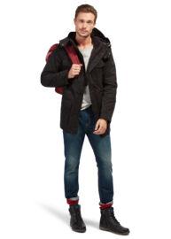 Tom Tailor 3533521 00 10 2999 Férfi fekete kabát