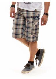 Tom Tailor 6017527 01 10 4132 kék-barna kockás férfi bermuda