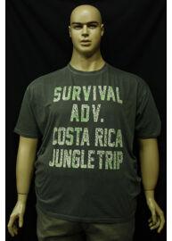Kitaro 151138 118 férfi nagy méretű feliratos póló