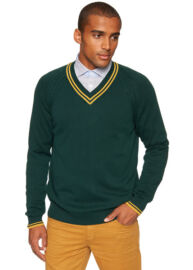 Tom Tailor 3018172.90.10 7513 kötött v nyakas pulóver