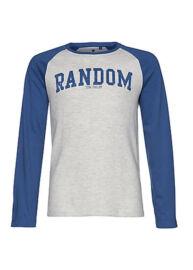 Tom Tailor 1029089 00 30 6727 kék-szürke gyermek hosszú ujjú póló