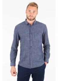 Tom Tailor 2055704 00 10 6856 kék férfi hosszú ujjú ing