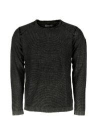 No excess 78 230812 020 Fekete férfi pulóver