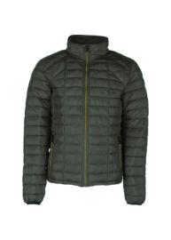No Excess 74 630715 059 Army sötét zöld steppelt poliészter férfi kabát