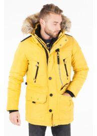 Tom Tailor 3555325 00 10 3549 Férfi sárga télikabát