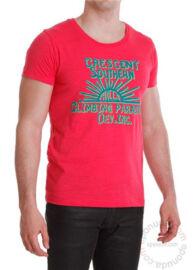 Devergo 1D414062SS3801 férfi feliratos póló