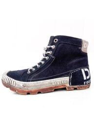 Devergo ha8016le16fw sötétkék férfi magas szárú férfi cipő