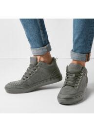 Bk B40 3675 04 Szürke színű férfi utcai cipő