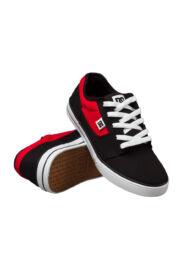 DC 303324B Youth's Bristol Canvas Fekete vászon utcai cipő Méret: 32