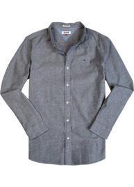 Tommy Hilfiger Denim DM0DM01839 406 kék hosszú ujjú férfi ing