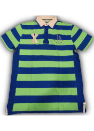 Tom Tailor 1512473 00 30 6611 Gyerek kék-zöld színű csíkos póló