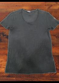 Antony Morato MMKS00145 Férfi fekete átlátszó póló