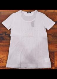 Antony Morato MMKS00145 Férfi fehér átlátszó póló