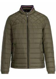 Tommy Hilfiger MW0MW12001 LFH Férfi steppelt khaki dzseki