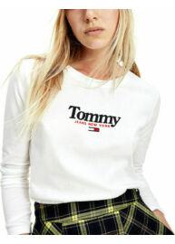 Tommy Hilfiger DW0DW08941 YBR Női fehér hosszú ujjú póló