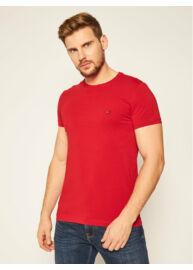 Tommy Hilfiger MW0MW10800 XMP Férfi piros rövid ujjú póló