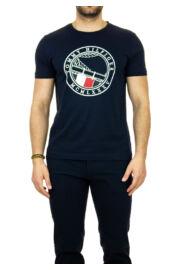Tommy Hilfiger MW0MW13334 DW5 férfi sötétkék póló