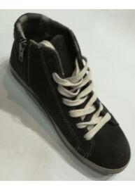 Wrangler WR 132620 Női sötétbarna színű magasszárú utcai cipő Méret: 40