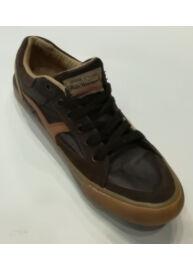 Devergo CO3011PU 14FW Férfi sötétbarna színű bőr utcai cipő
