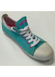 Devergo LC4511 CA Női türkizkék színű vászon utcai cipő